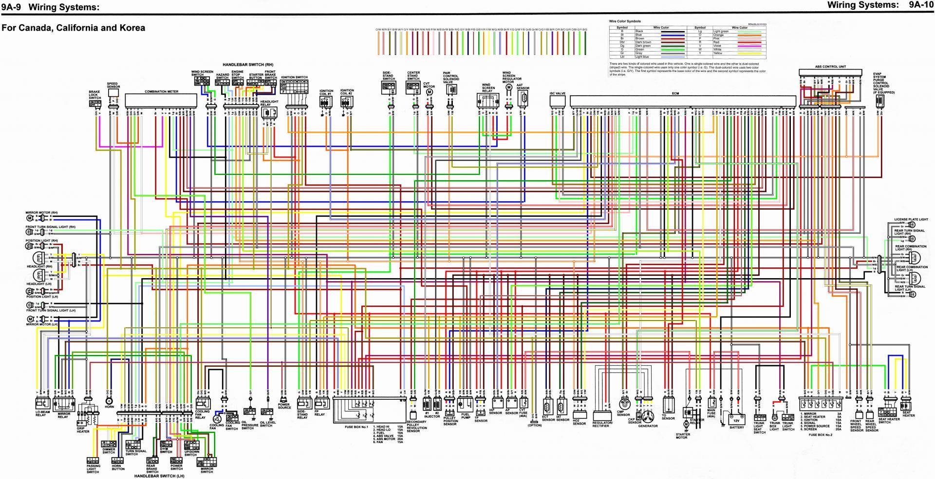 2018 burgman wiring diagram in color | suzuki burgman usa forum  burgman usa