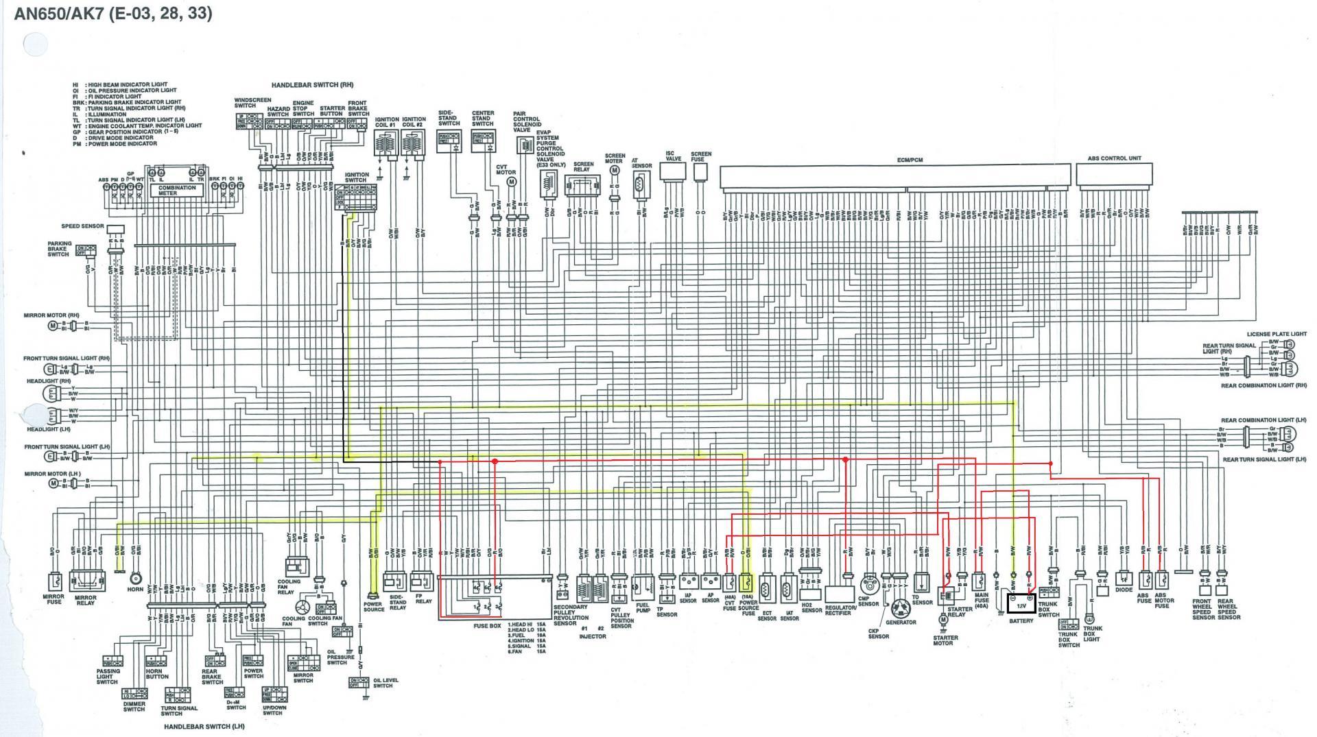 wiring diagram kelistrikan suzuki thunder 125 suzuki burgman wiring diagram wiring diagram data  suzuki burgman wiring diagram wiring